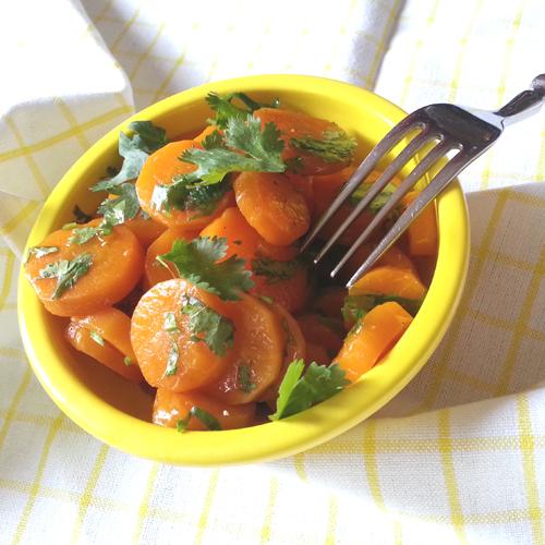 carottes à la coriandre